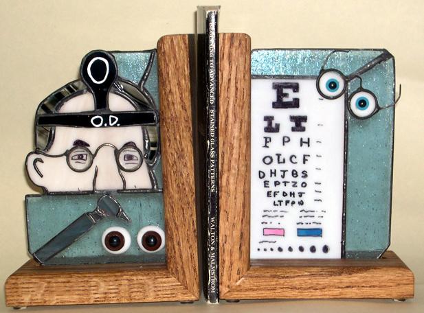 Eye Doctor Bookends